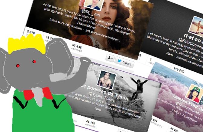 [ENQUÊTE] Les mystérieux comptes ados de Twitter