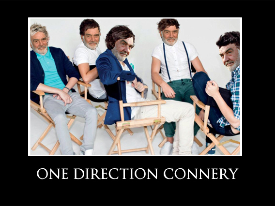 ONE DIRECTION CONNERY