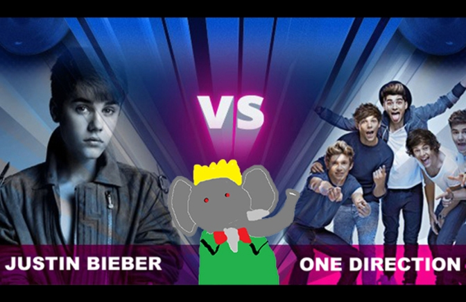 [ENQUÊTE] Justin Bieber vs One Direction : LE CLASH ULTIME