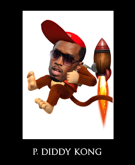 P. DIDDY KONG