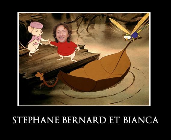 STEPHANE BERNARD ET BIANCA