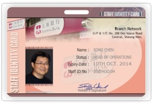 Staff Identiy Card
