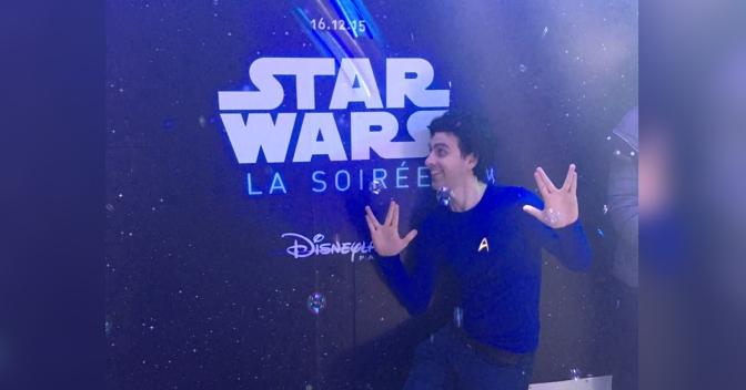 Je suis allé à l'avant première de Star Wars en croyant que c'était celle de Star Trek